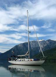 Outdoor Activities Sailing the coast of Vancouver Island