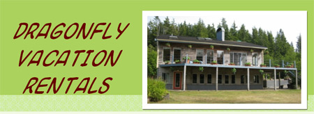 Dragonfly Vacation Rental Suites Bamfield