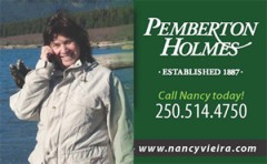 Nancy Vieira -  Pemberton Homes